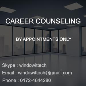career Counseling shwetank education