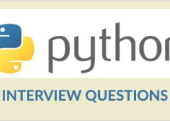 Latest Python Interview Question and Answer 2018