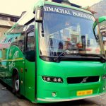 Delhi to Chandigarh Shimla manali chamba Himachal Pradesh Volvo Bus timing